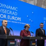 Visegrad Group prime ministers and German Chancellor Merkel held meeting in Slovakia