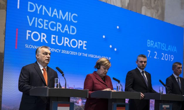 Visegrad Group prime ministers and German Chancellor Merkel held meeting in Slovakia