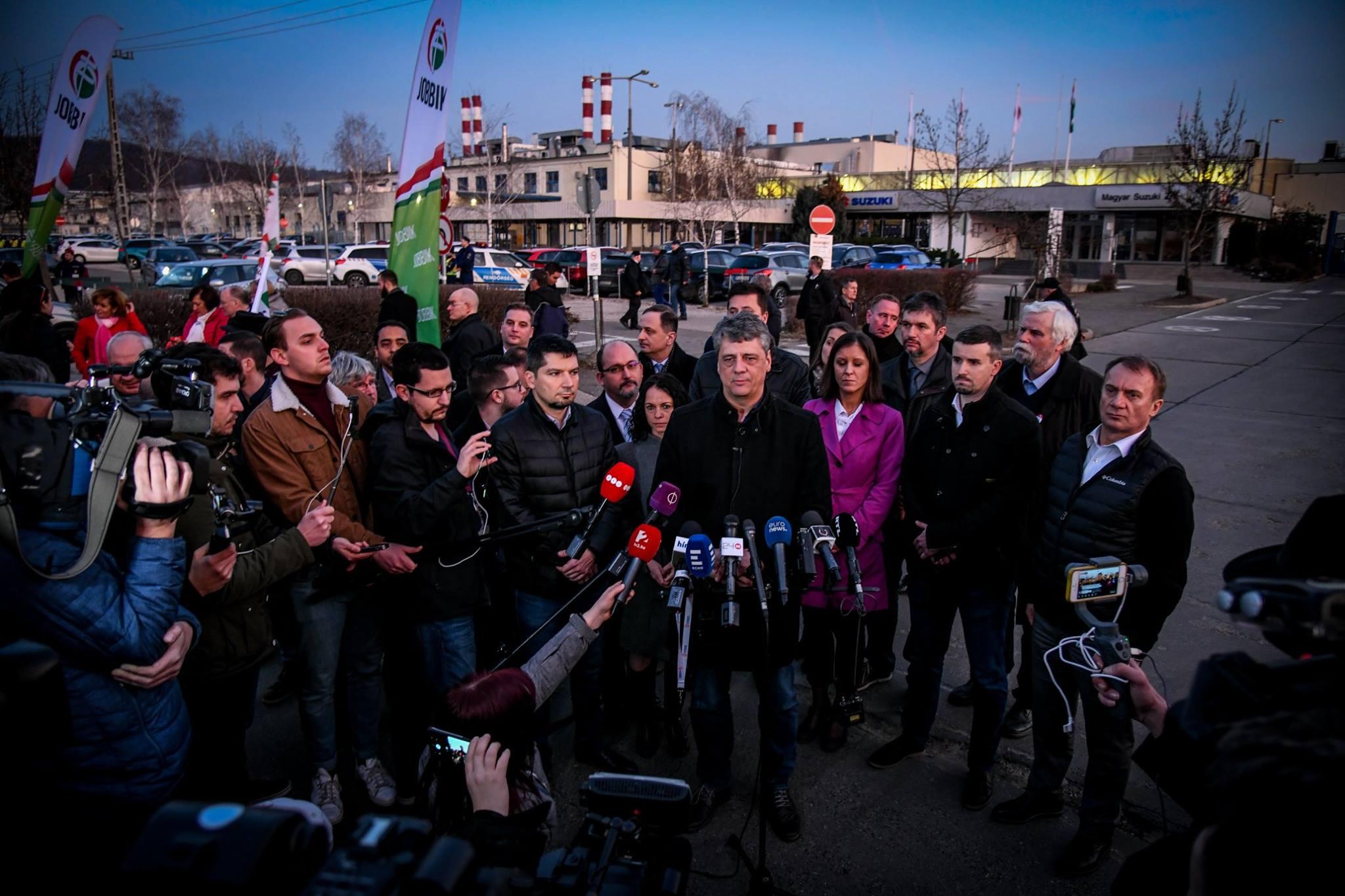 opposition suzuki plant esztergom hungary