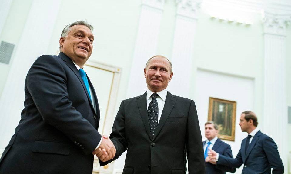Orbán Putin visit