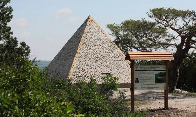 Hungary's spectacular and only stone pyramid – Photos & Video