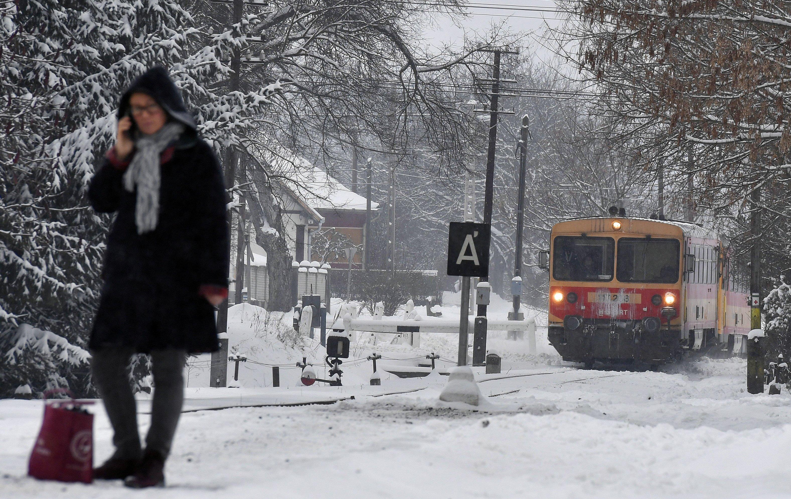 railway train Hungary