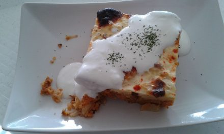 Recipe of the week: layered cauliflower / rakott karfiol