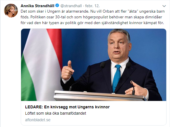 strandhall orbán criticism