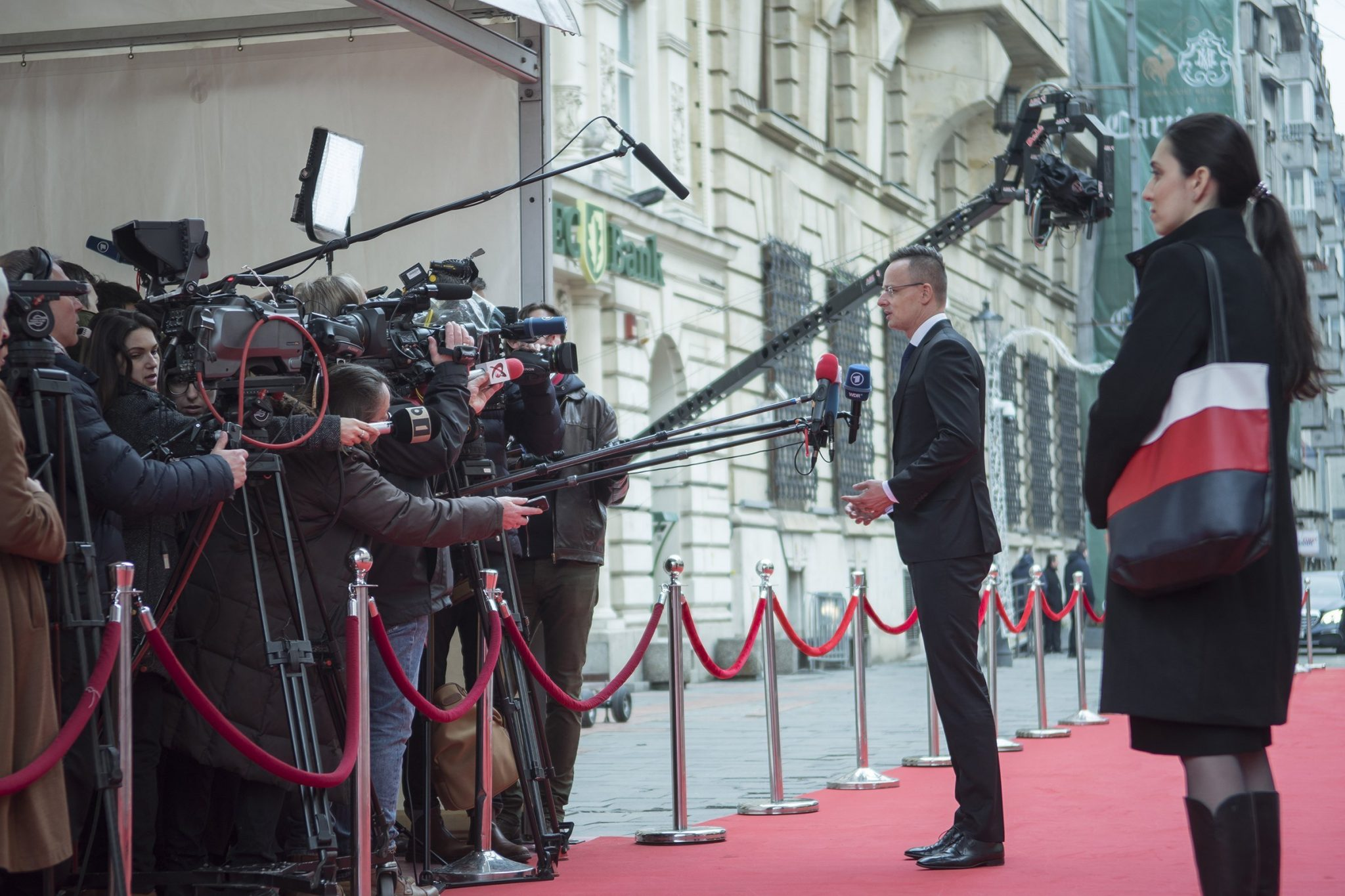hungarian foreign minister press