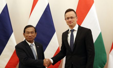 Increased cooperation with Thailand in Hungary's interest, says Hungarian FM