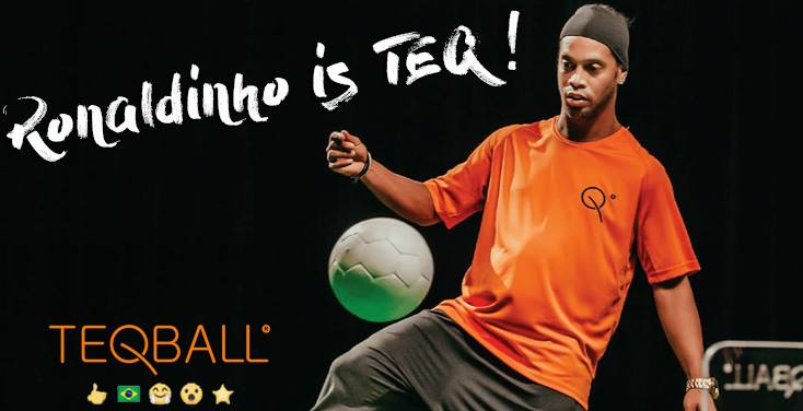 Ronaldinho to popularize Hungarian sport-invention Teqball in Budapest again!
