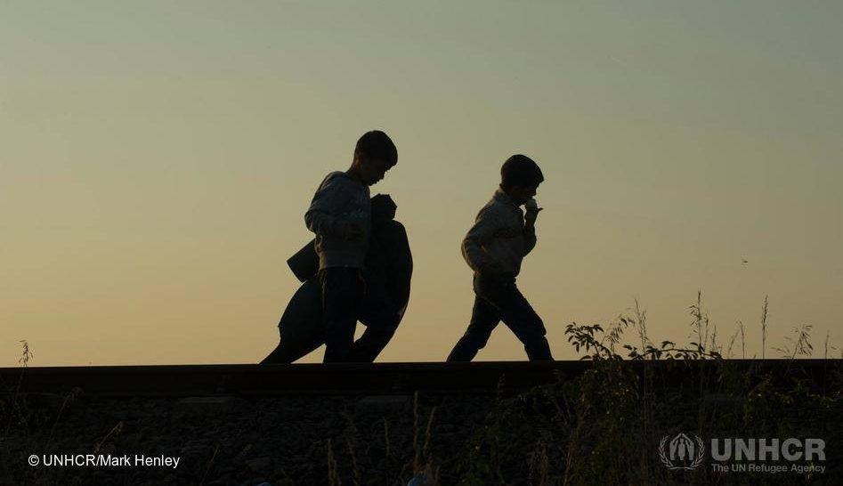 unhcr migration kids