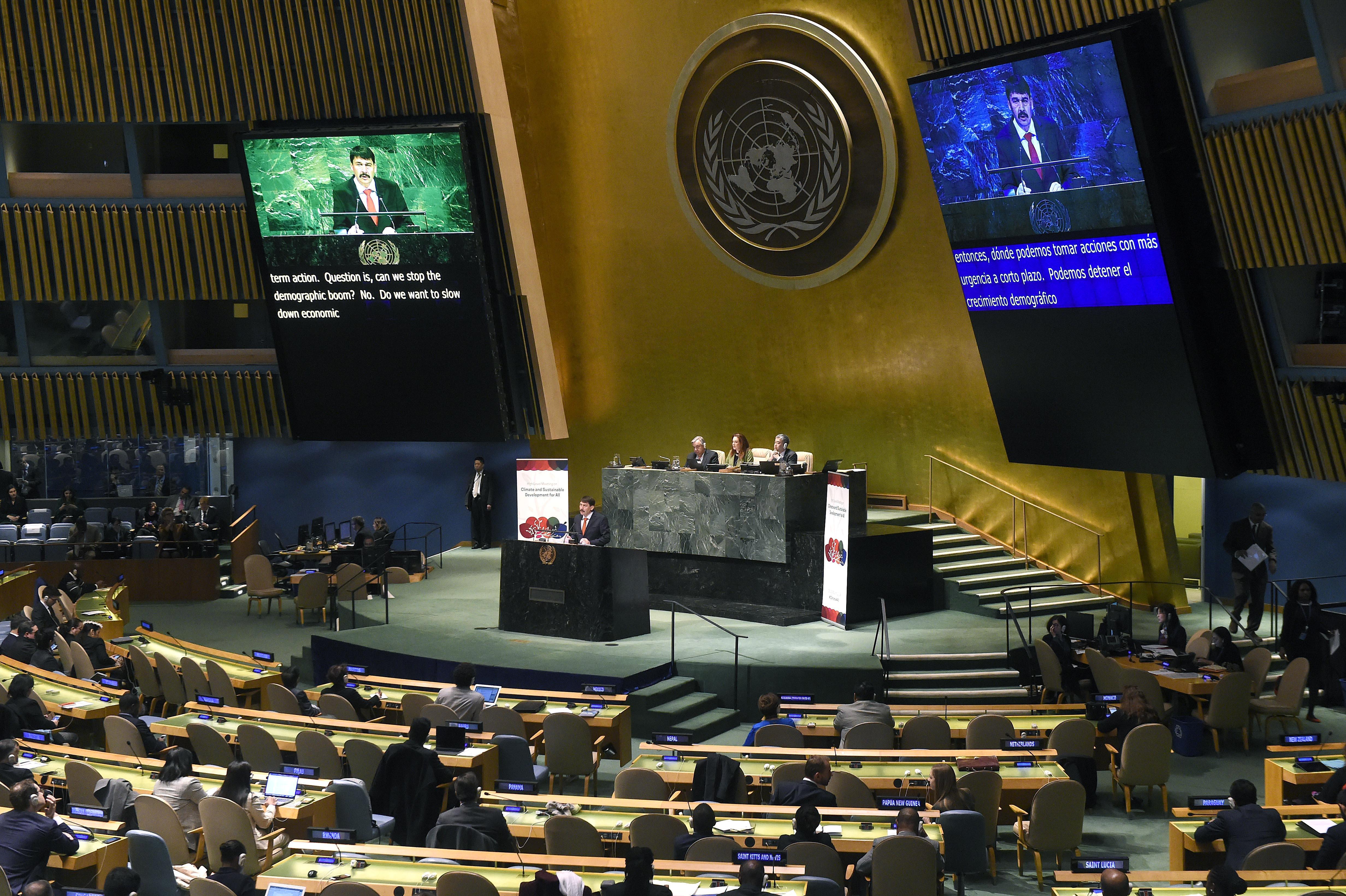 hungarian president in UN