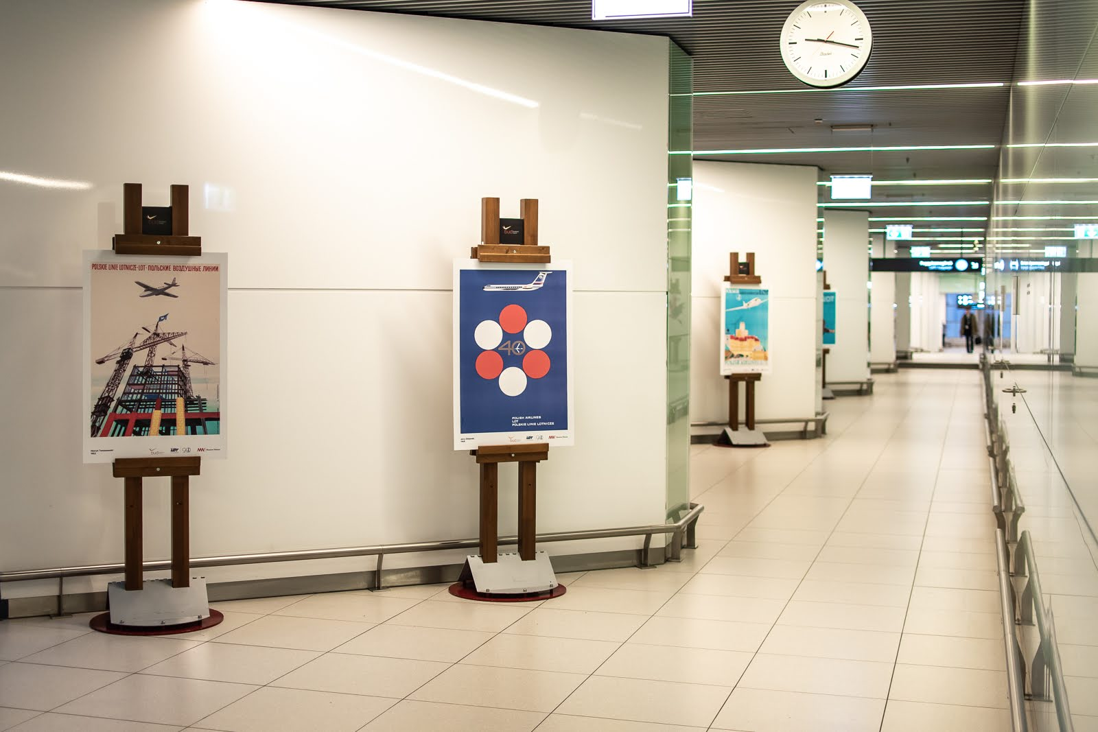Budapest Airport exhibition