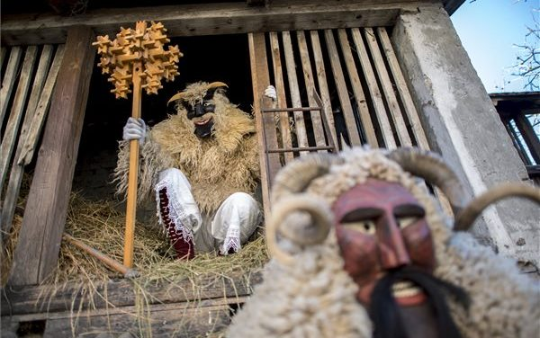 Join the traditional Hungarian Busó festival in Mohács