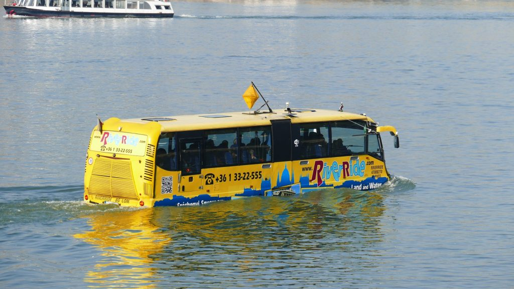 City bus, Budapest, tours, Danube