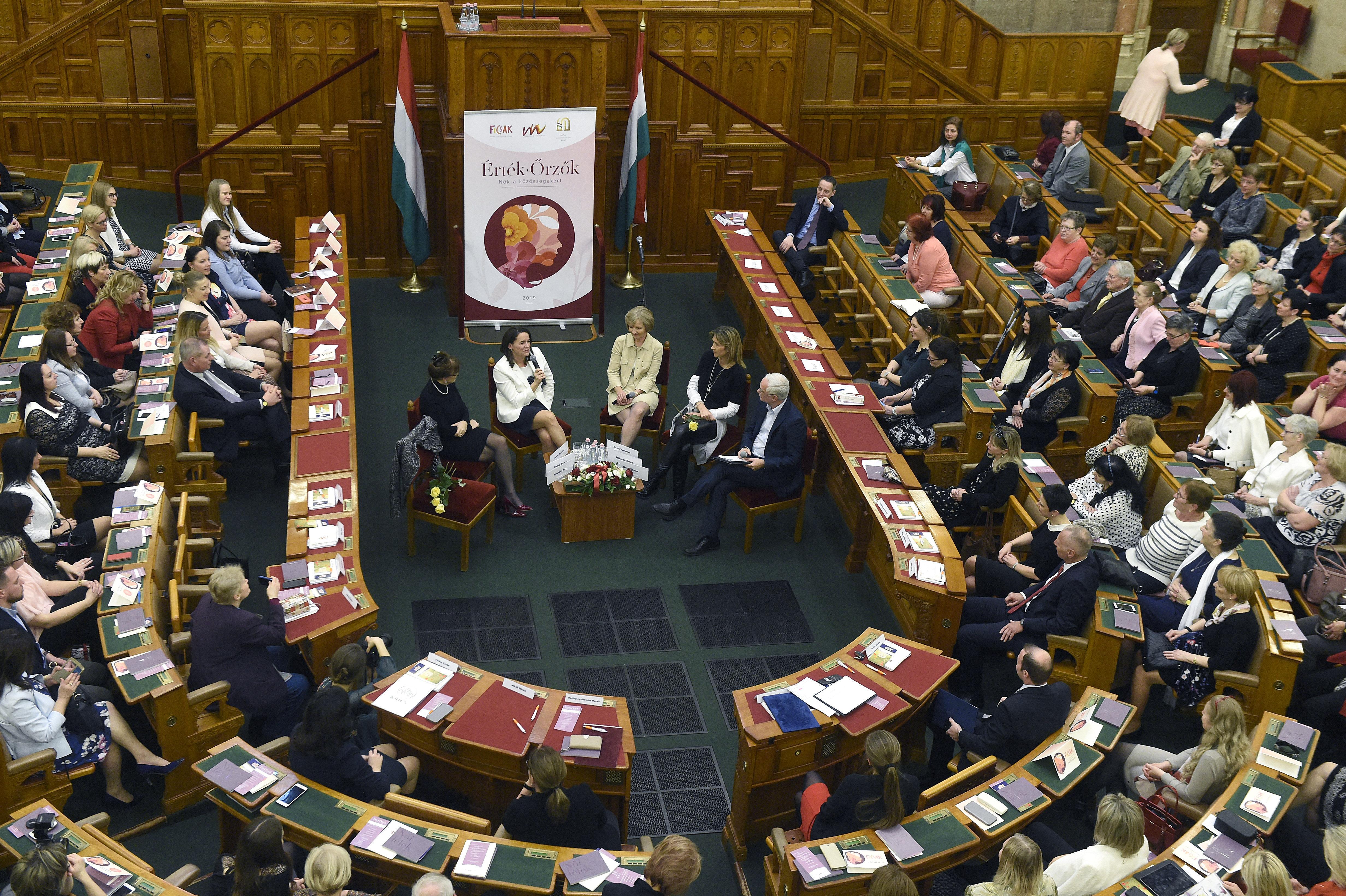 politicians parliament women day