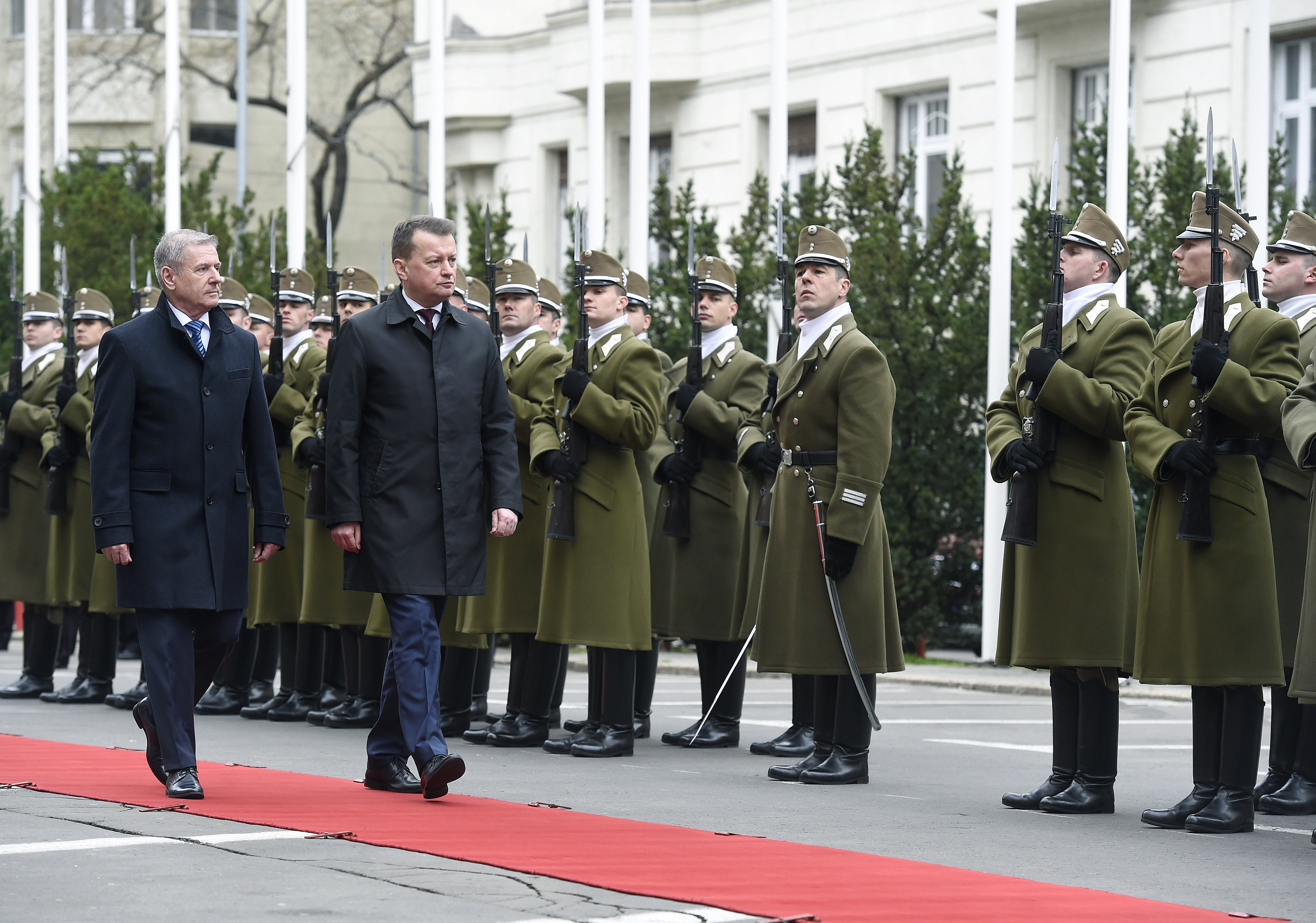 BENKÕ Tibor poland hungary defence ministers