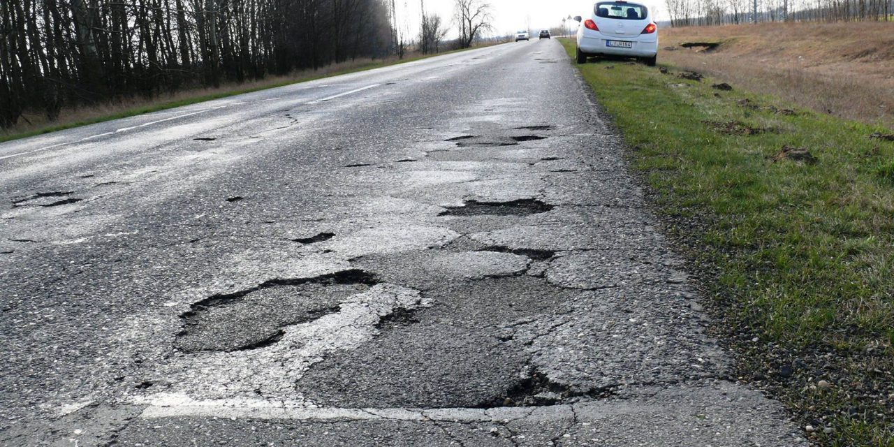 Hungary officially has the worst and most unbearable roads