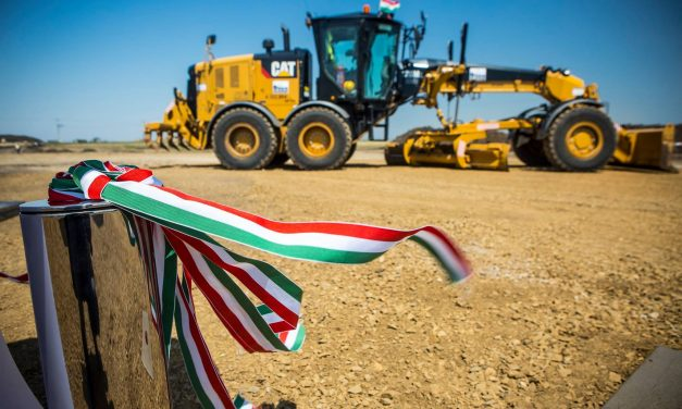 Hungary, the country of constructions set new records last year