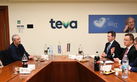 Hungarian FM Szijjártó meets business executives in Israel