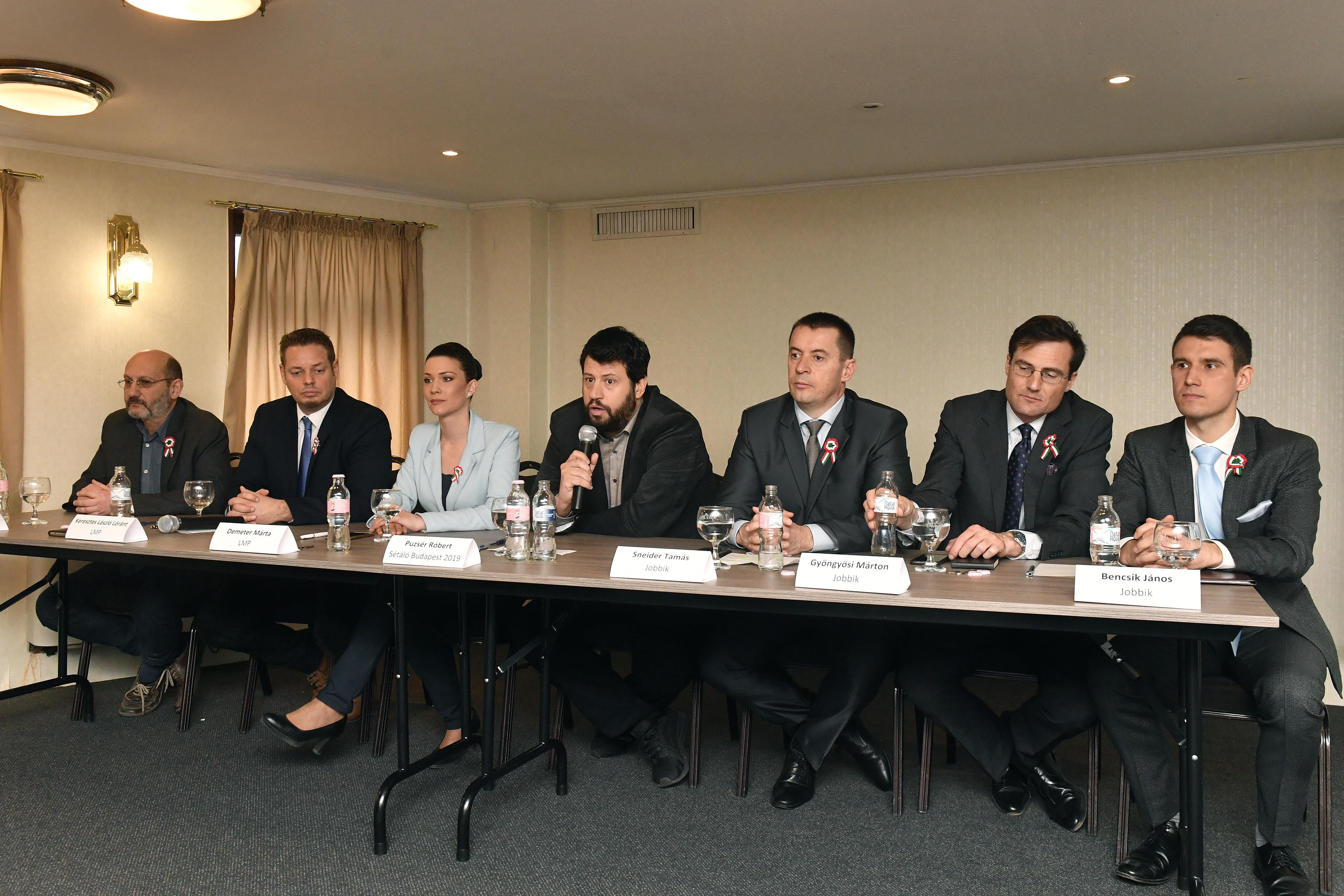 LMP Jobbik municipial 2019 election Budapest Puzsér