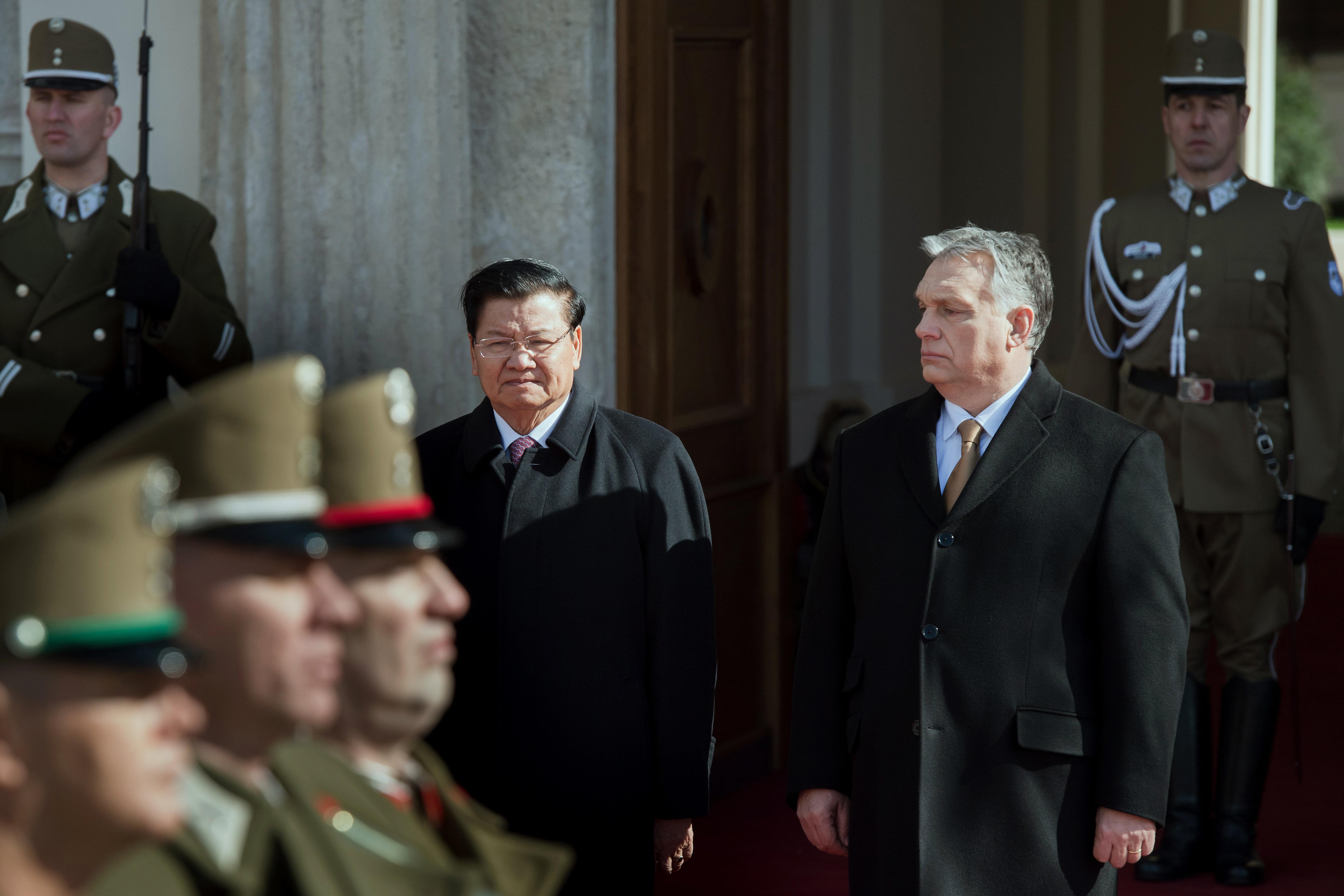 Laos Hungary ORBÁN Viktor; THONGLUN, Sziszulit