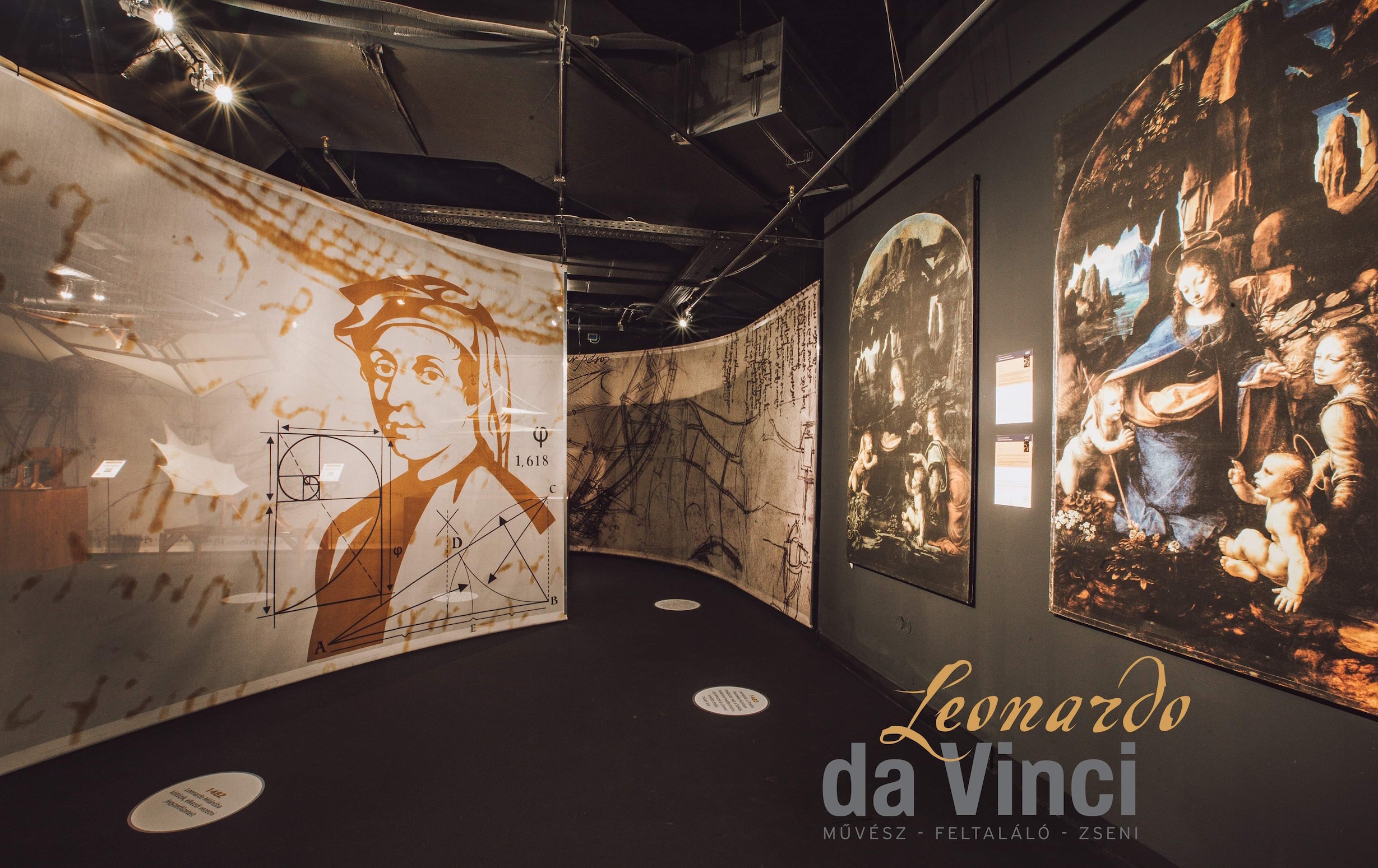 leonardo da vinci exhibition budapest