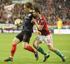 Modric Croatia Hungary