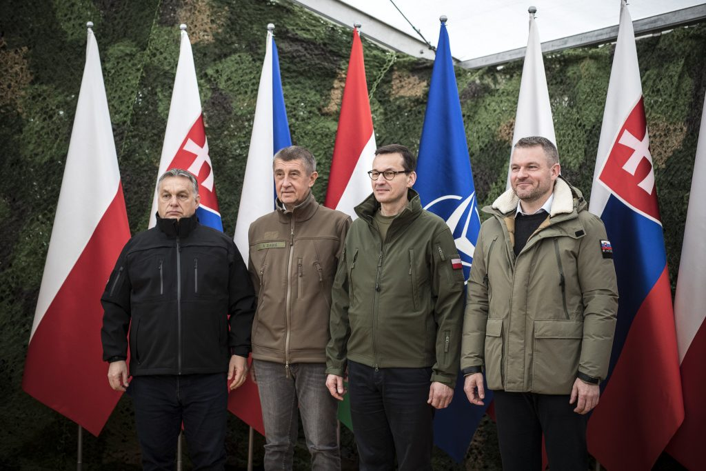 visegrad four group NATO