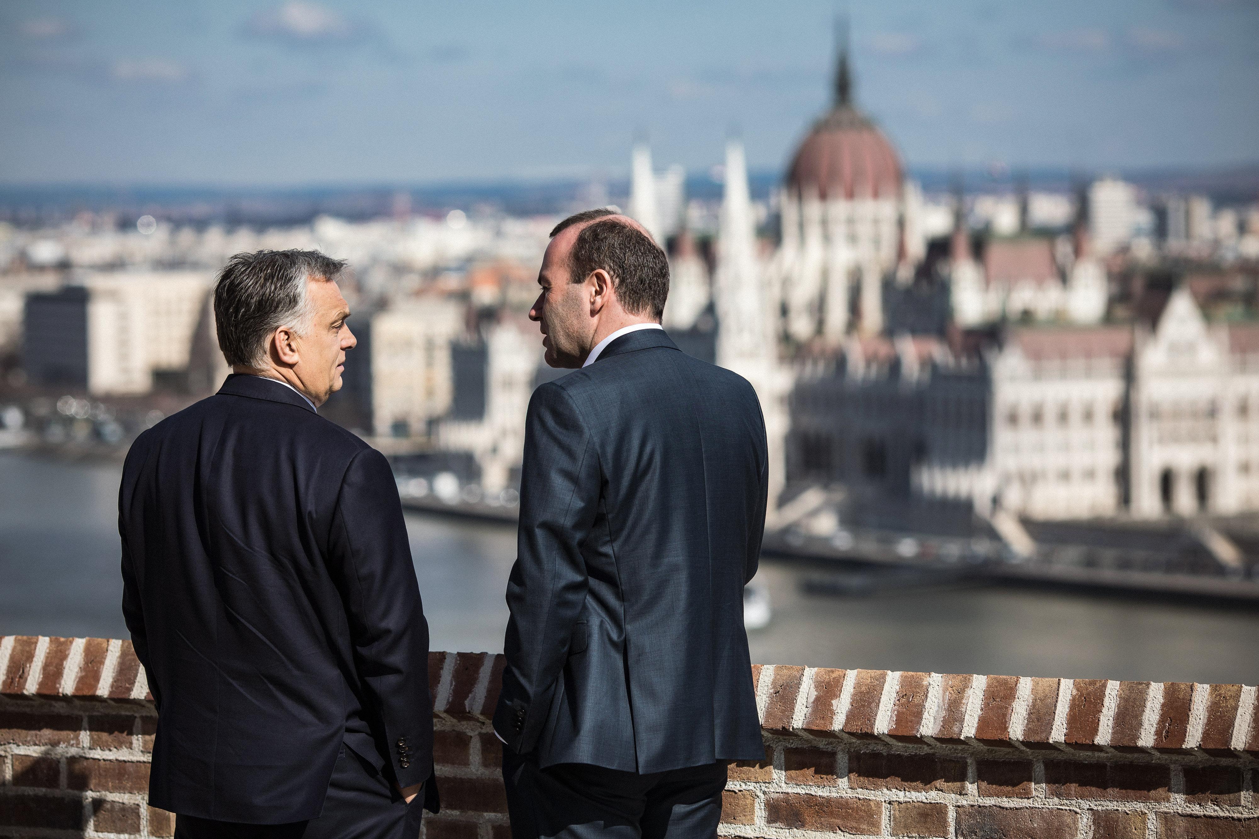 ORBÁN Viktor; WEBER, Manfred EPP