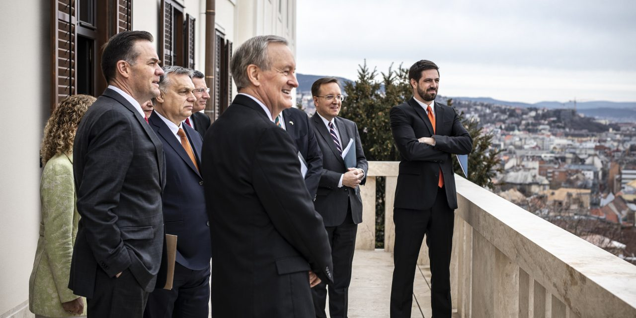 PM Orbán meets US Congress delegation – UPDATE