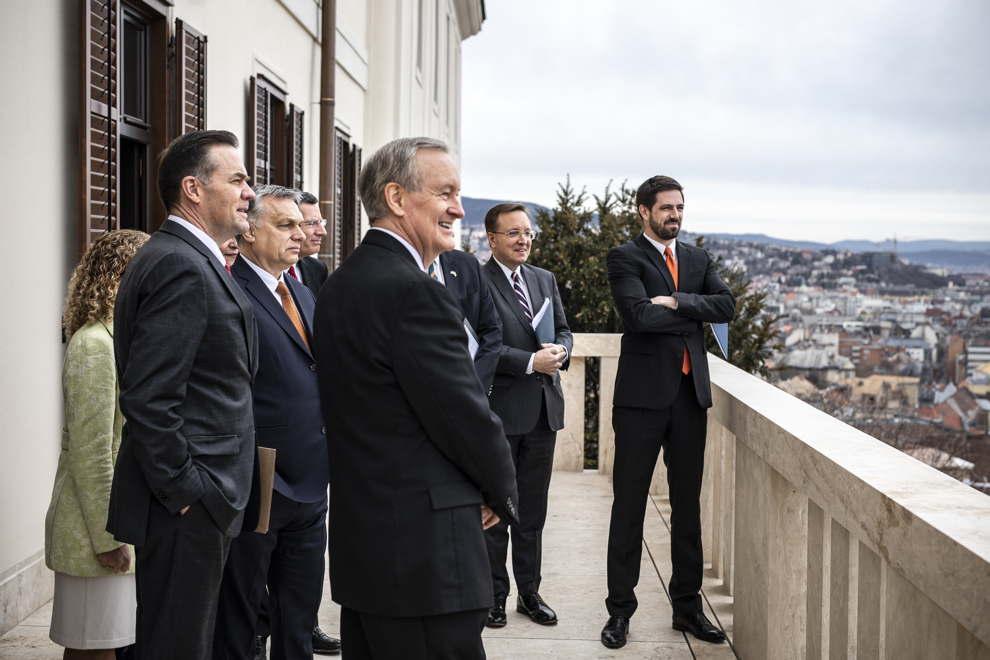Orban meets US Congress delegation