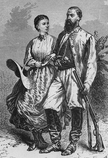 Samuel Baker, Florence Baker, Hungarian, British, explorers, Africa