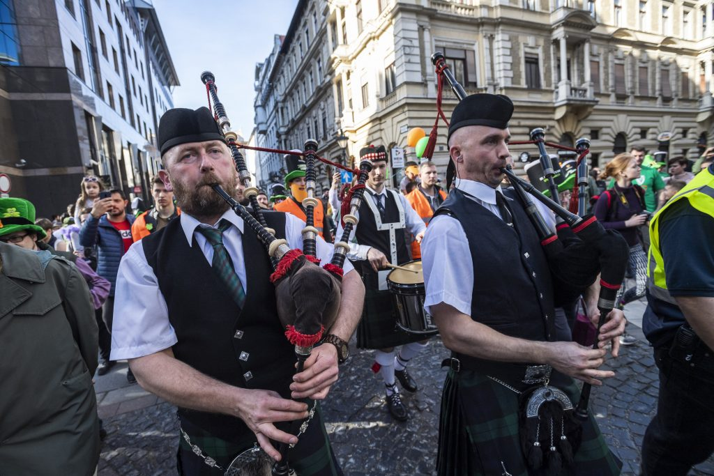St. Patrick's Day, Hungary, celebration, music