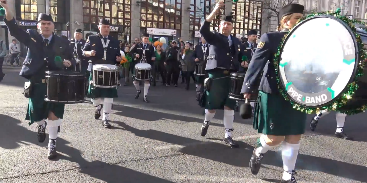 On this weekend: St Patrick's Day Parade Budapest 2019