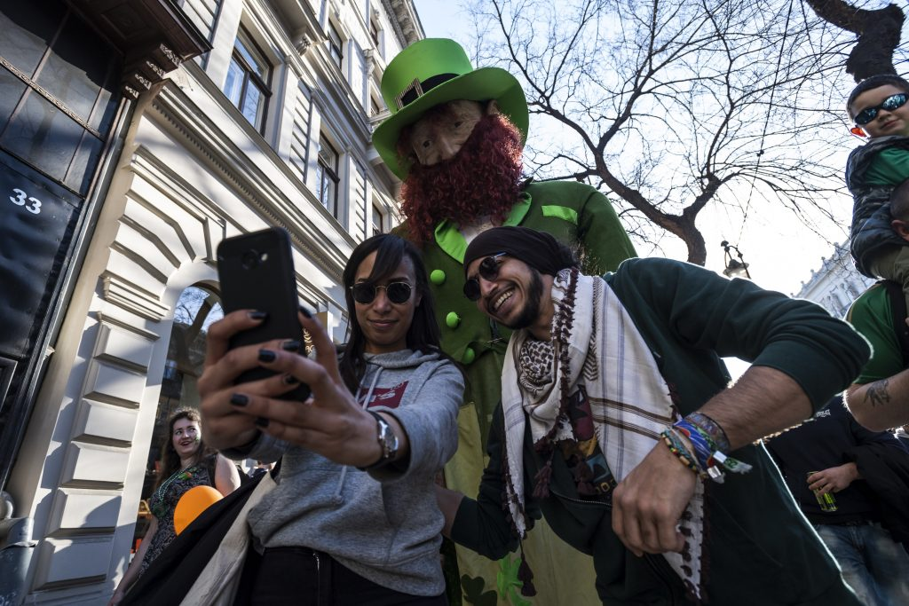 St. Patrick's Day Celebration in Hungary