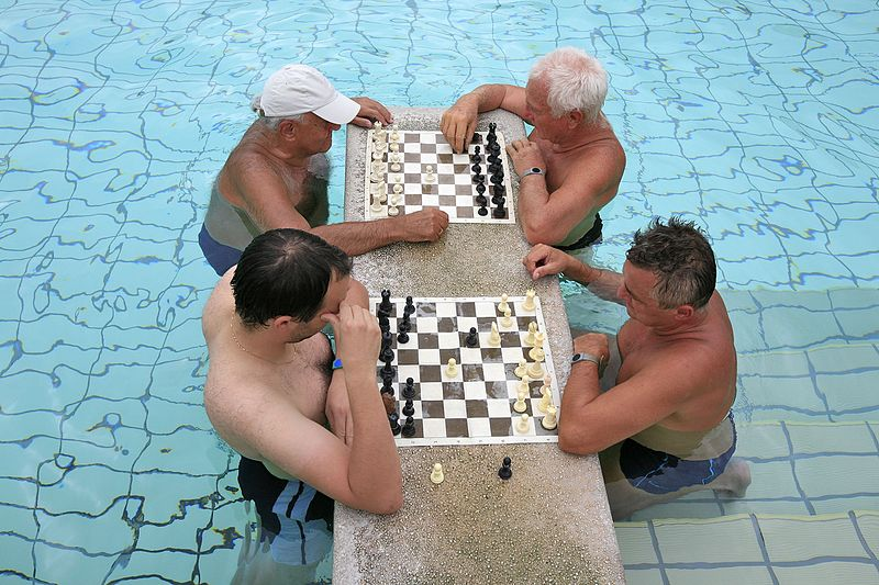 széchenyi bath chess