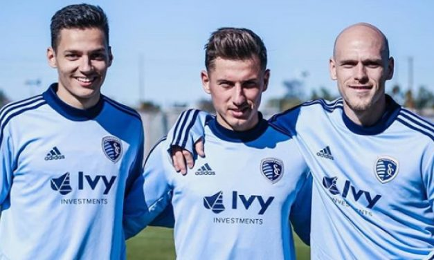 Hungarian soccer players conquering America!