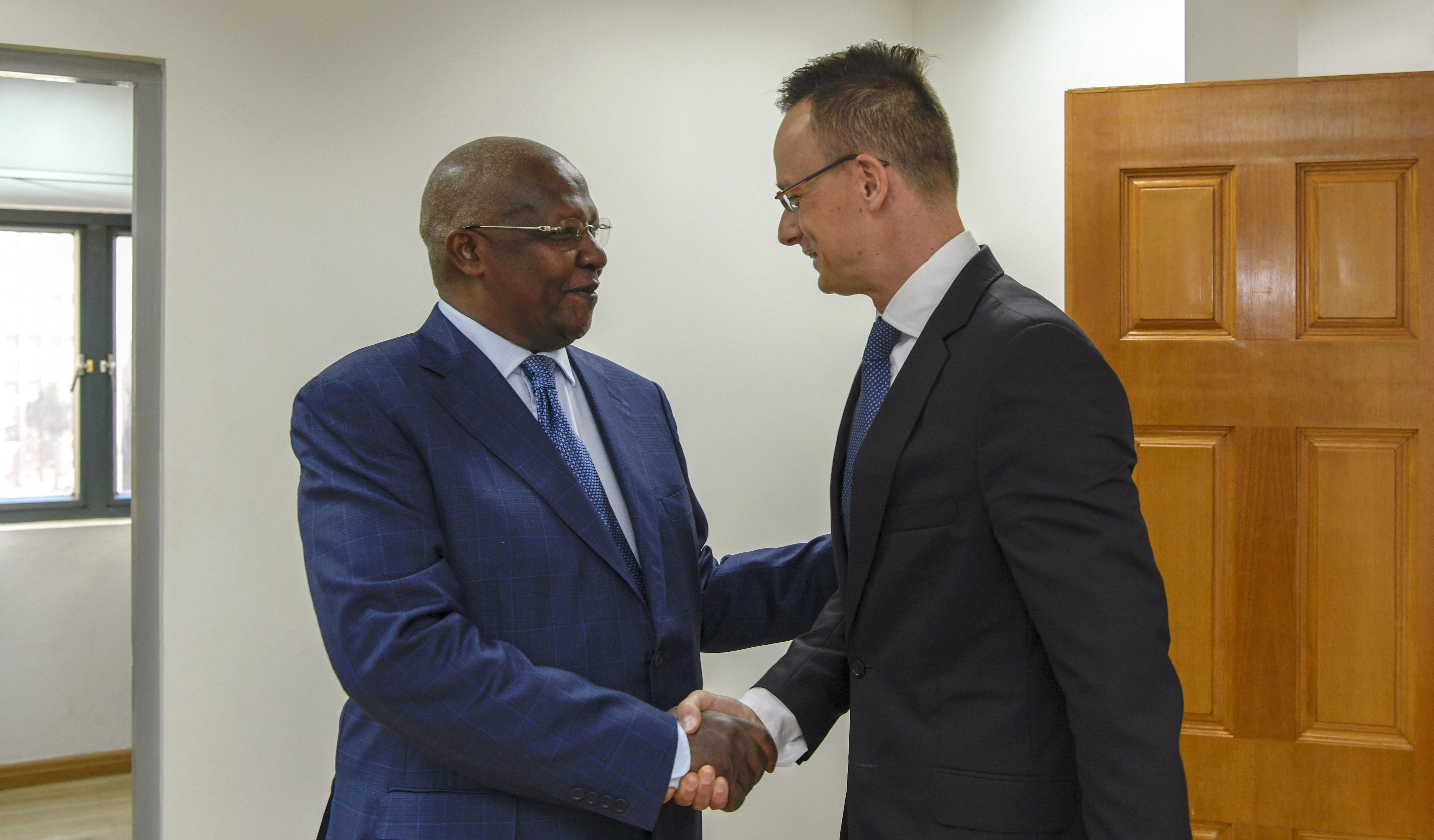 Uganda Hungary foreign ministers
