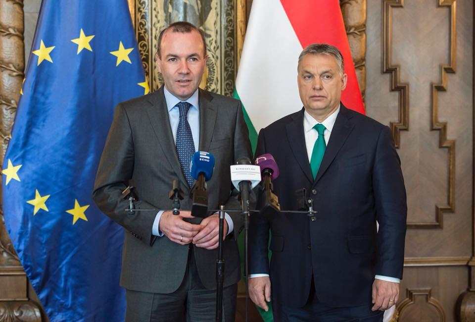 Weber, Orbán, Hungary, EU, politics