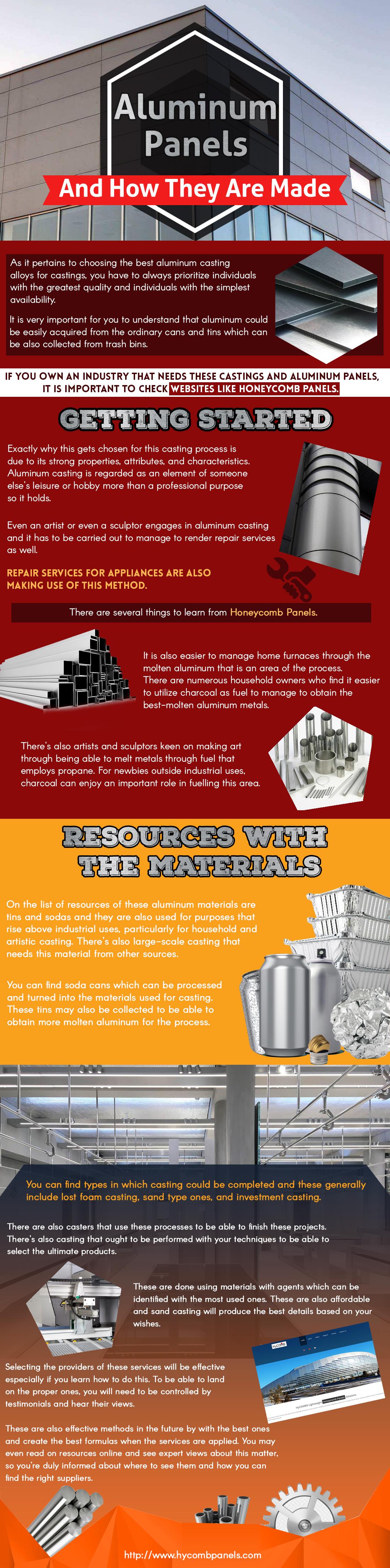 aluminum infographics