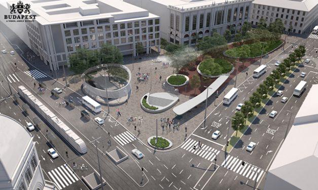 Budapest Blaha Lujza square to be modernized