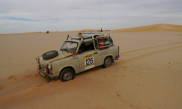 Interview: How a Hungarian humanitarian group explores Africa with a Trabant
