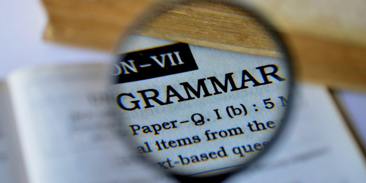Grammar checker: A vital tool for business communications