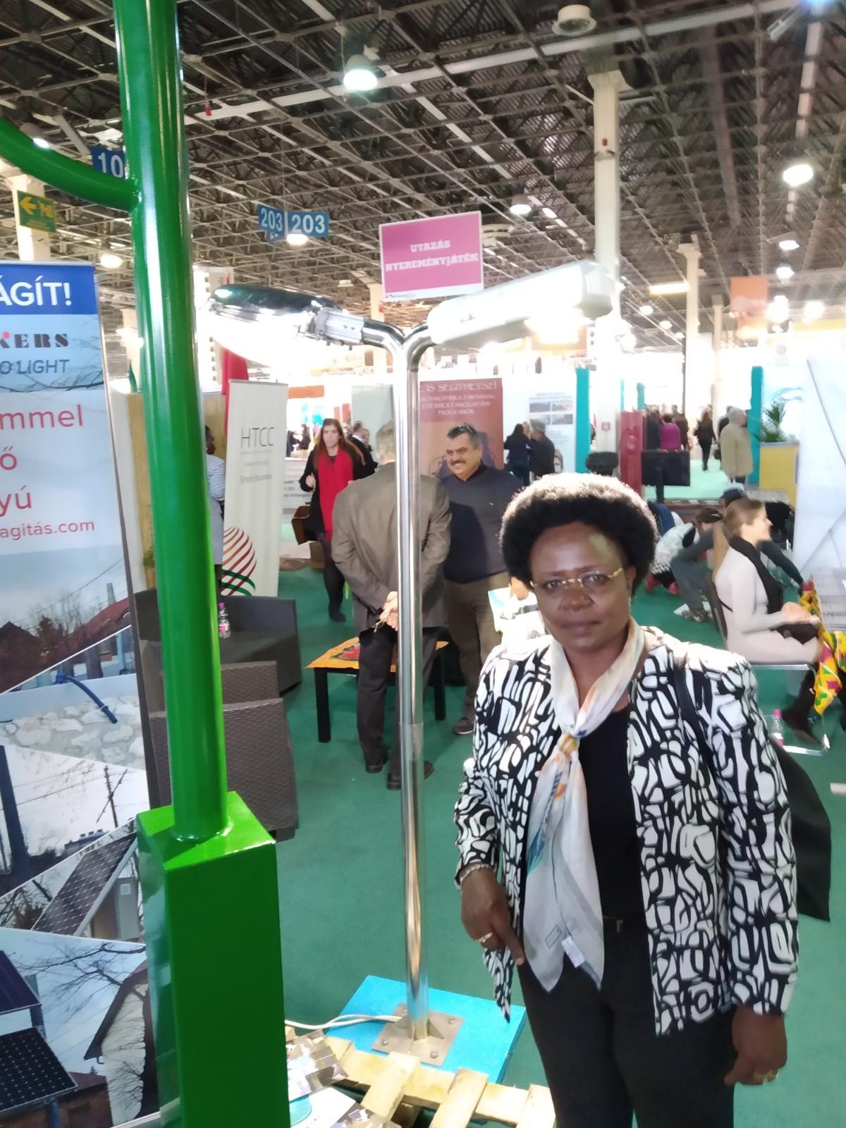 uganda minister, htcc africa expo