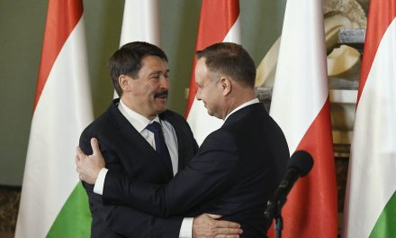 Hungarian President granted highest Polish state honour to commemorate the historic friendship