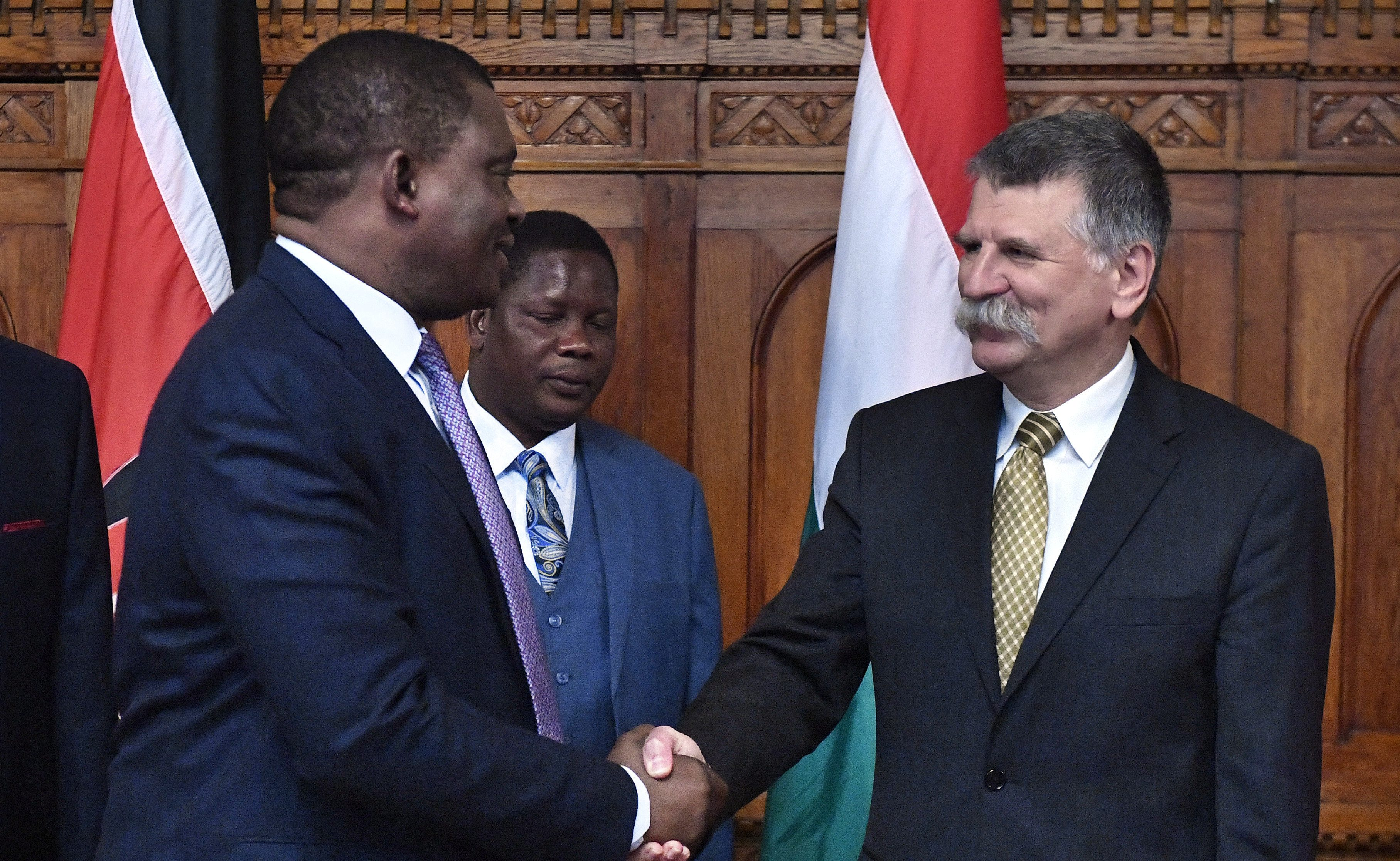 kenya hungary ties