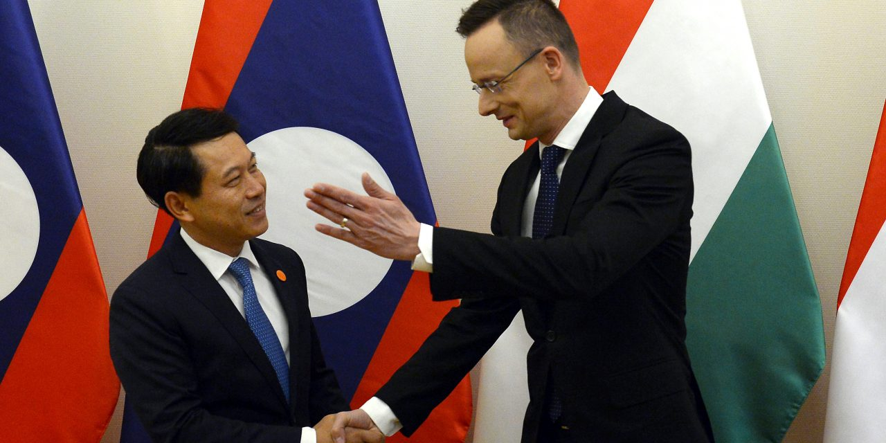 Hungary to build strategic ties with Laos – Laotian FM Kommasith in Budapest