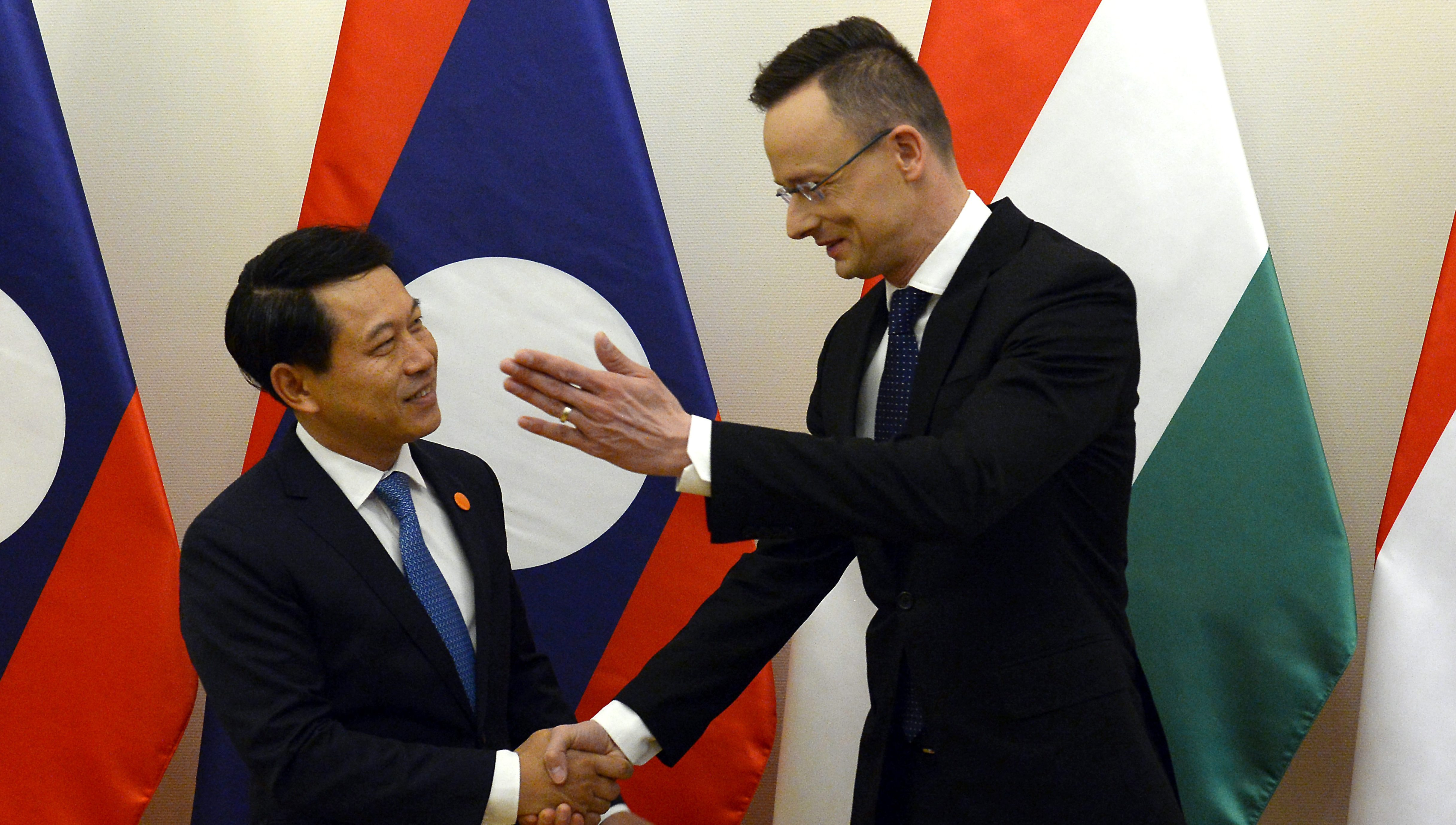 Hungary Laos foreign ministers