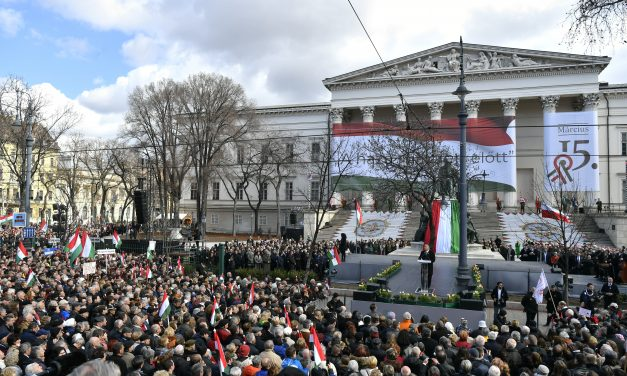 March 15 – Orbán calls for fight to protect Europe's Christian culture – PHOTOS
