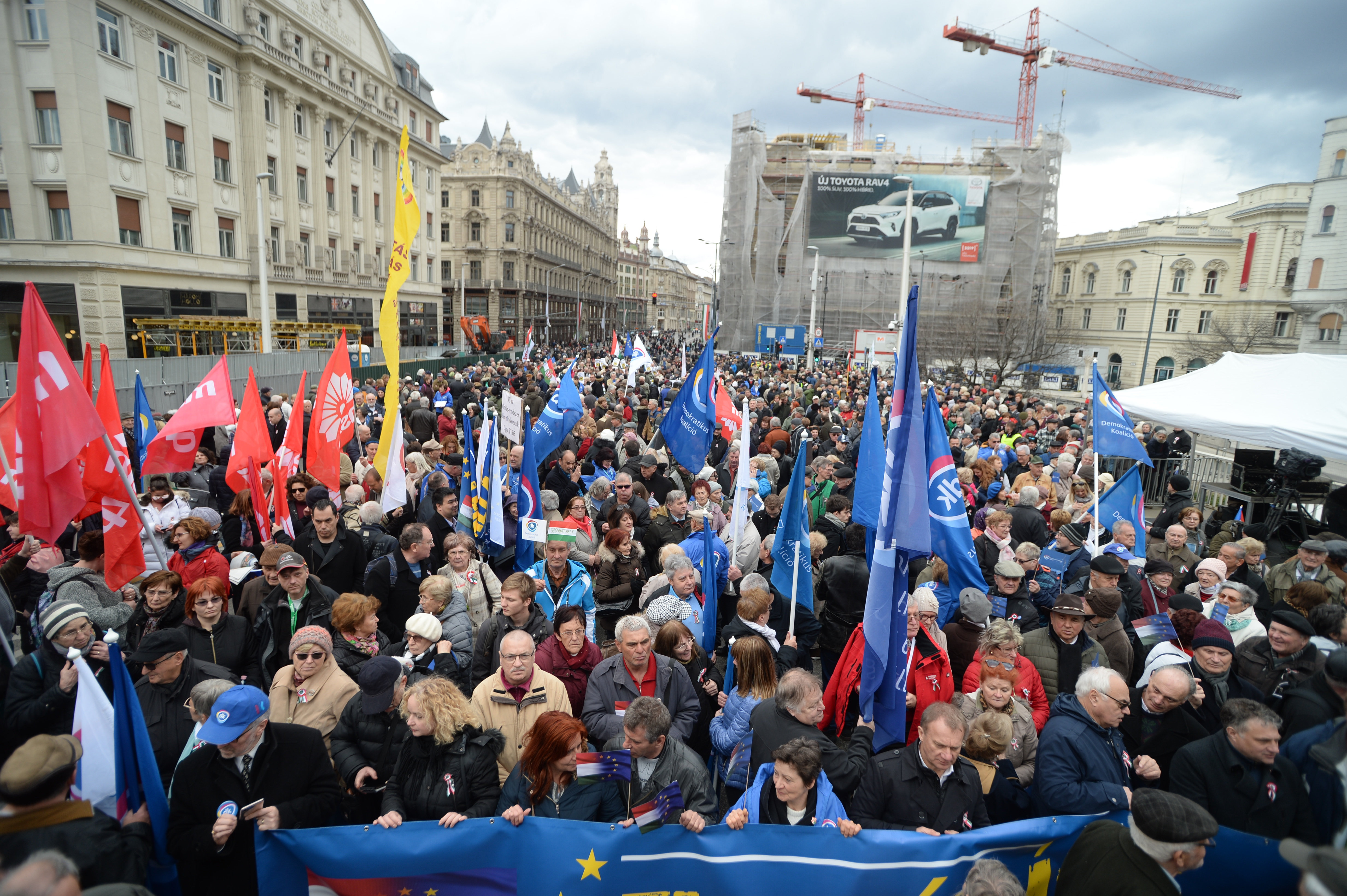 opposition protest March 15