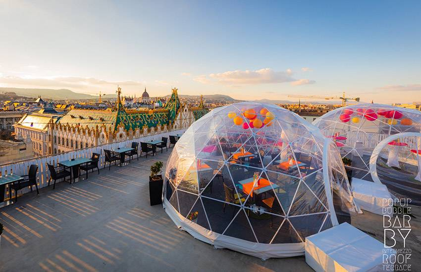 New Bubble Bar Opens Above Budapest Daily News Hungary