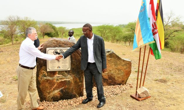 Memorial plaque to Hungarian explorer of the source of Nile inaugurated in Uganda